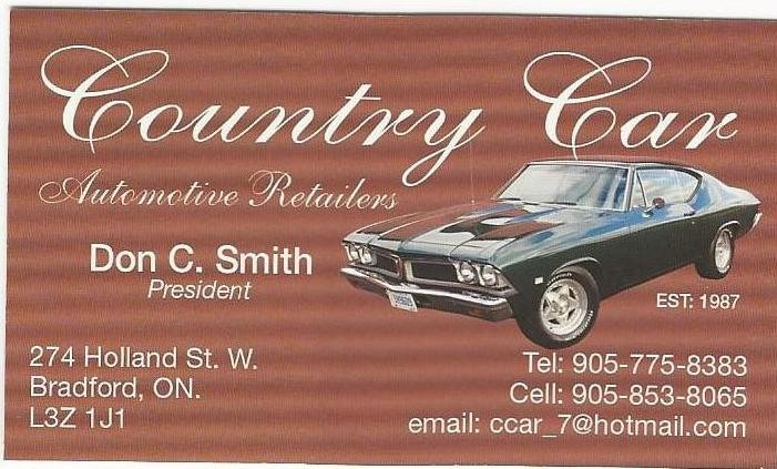 Country Car Automotive Retailer